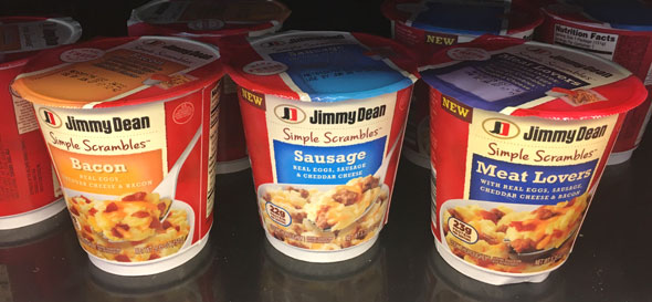 Varieties of Jimmy Dean Simple Scrambles Review
