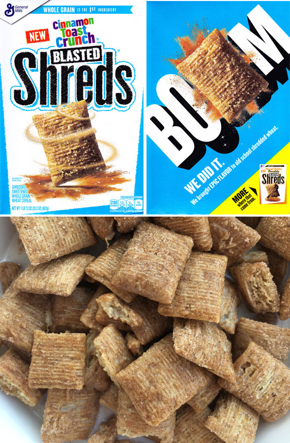 Cinnamon Toast Crunch Blasted Shreds Product Review
