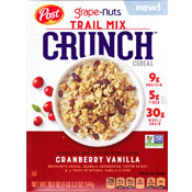 Cranberry Vanilla Trail Mix Crunch