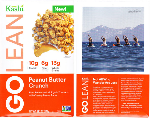 GOLEAN Peanut Butter Crunch Cereal Product Review