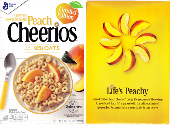Peach Cheerios Product Review