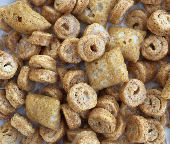 Bowl of Kashi By Kids Honey Cinnamon Super Food Combos Cereal