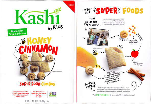 Kashi By Kids Honey Cinnamon Super Food Combos Cereal Product Review