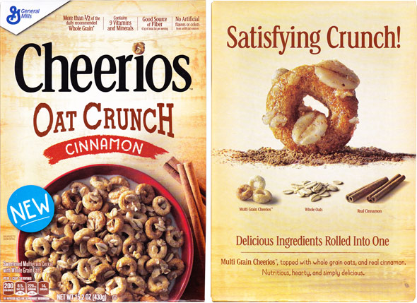 Cinnamon Cheerios Oat Crunch Cereal Product Review