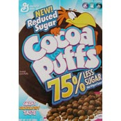 Cocoa Puffs - 75% Less Sugar