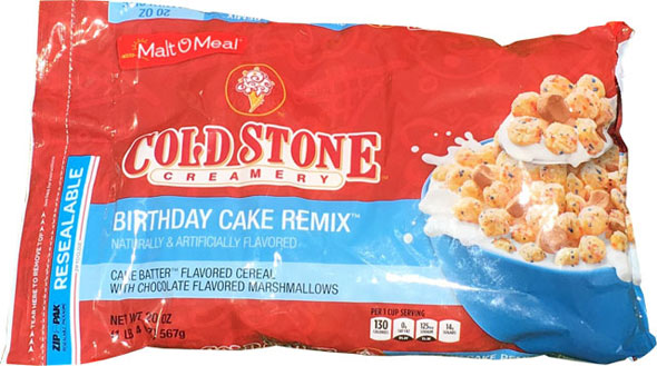 Birthday Cake Remix Cereal Product Review