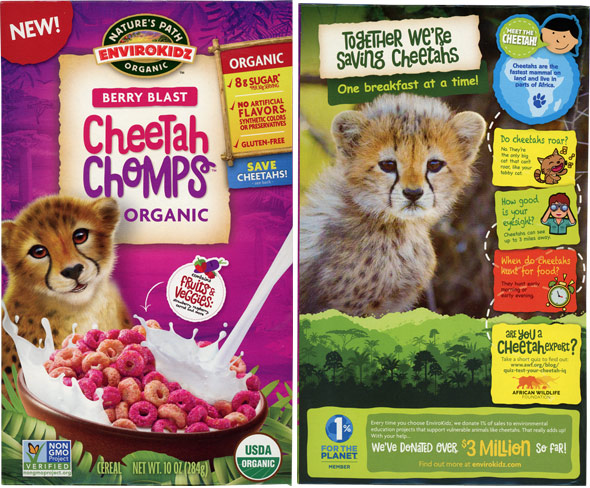 Berry Blast Cheetah Chomps Cereal Product Review