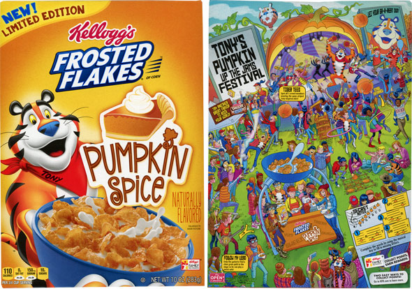 Pumpkin Spice Frosted Flakes Cereal Product Review