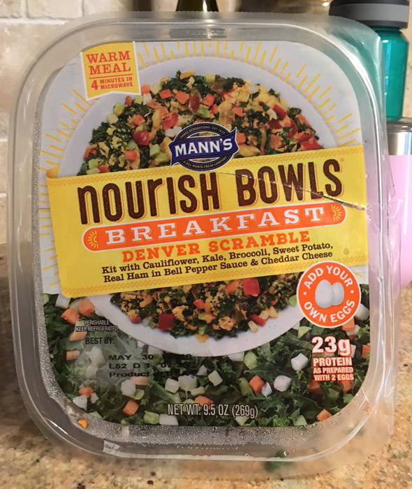 Nourish Breakfast Denver Scramble Bowl Product Review