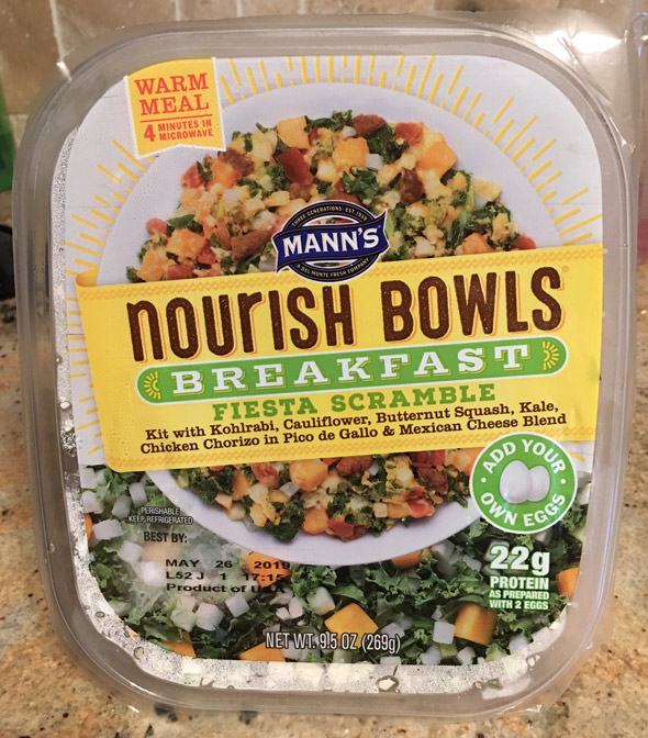 Nourish Breakfast Fiesta Bowl Product Review