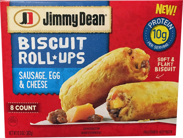Jimmy Dean Biscuit Roll-Ups Product Review