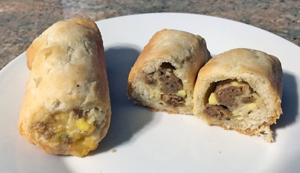 Jimmy Dean Biscuit Roll-Ups For Real