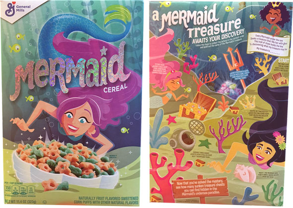 Mermaid Cereal Product Review