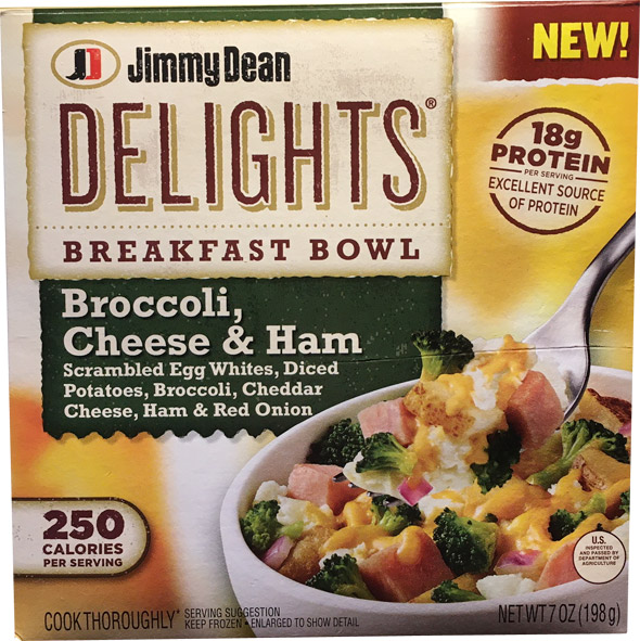 Broccoli, Cheese & Ham Delights Breakfast Bowl Product Review