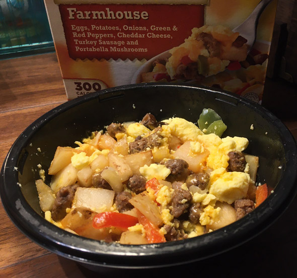 Farmhouse Delights Breakfast Bowl in Real Life