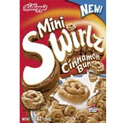 Mini Swirlz Cinnamon Bun Cereal