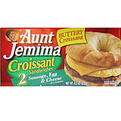 Aunt Jemima Breakfast Sandwiches