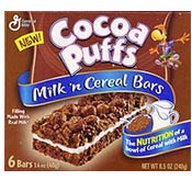 Cocoa Puffs Milk 'n Cereal Bars
