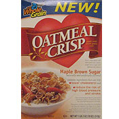 Maple & Brown Sugar Oatmeal Crisp