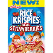 Rice Krispies With Real Strawberries