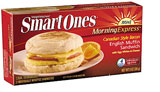 Smart Ones Morning Express Canadian Style Bacon English Muffin Sandwich