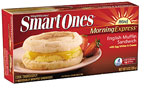 Smart Ones Morning Express English Muffin sandwich (no Canadian-style bacon)
