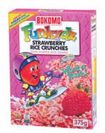 Funkydz Strawberry Rice Crunchies