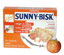 Sunny-Bisk Crispy Whole Wheat Biscuit