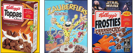 German Breakfast Cereals
