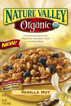 Vanilla Nut Nature Valley Box