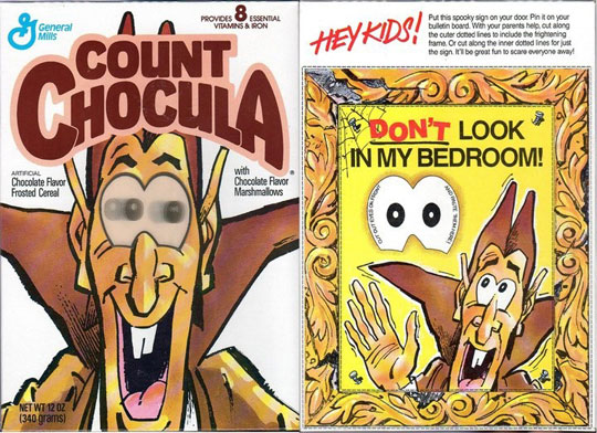 Count Chocula Crazy Eyes Box