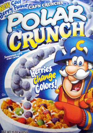 polar crunch box front - Captain Crunch Halloween