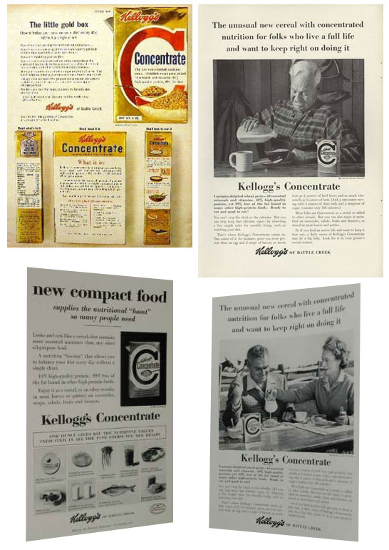 Montage Of Concentrate Ads