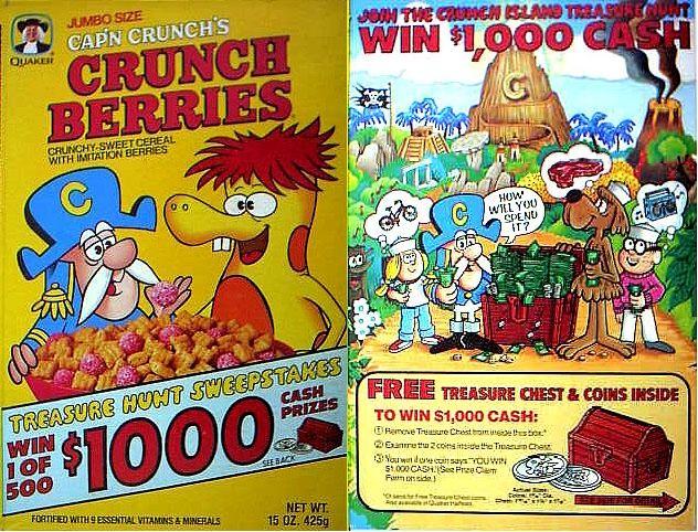 Treasure Island Cereal Games