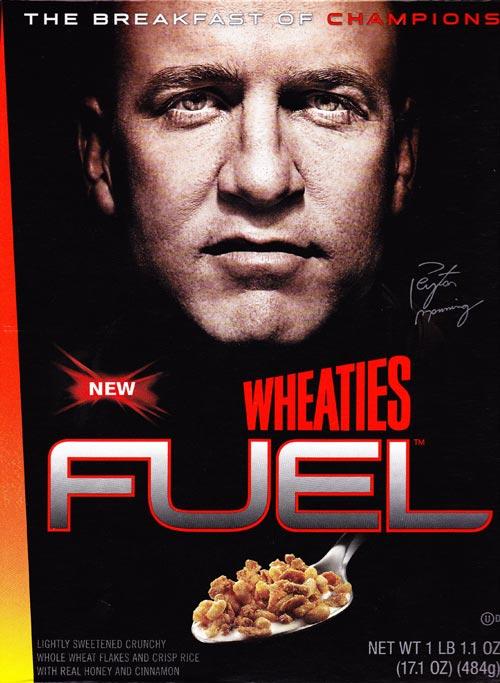 Wheaties Fuel: Peyton Manning Wheaties