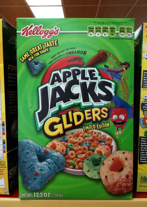 Apple Jacks Gliders: Apple Jacks Gliders Box - Front