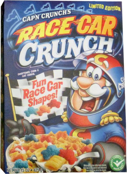 Cap'n Crunch's Race Car Crunch