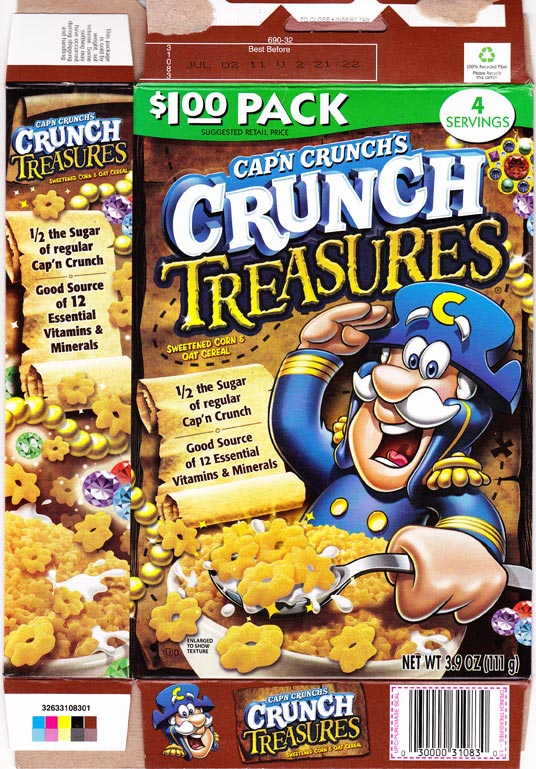 Crunch Treasures Box - Front