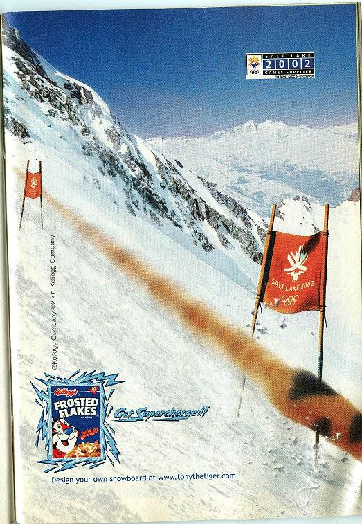 Frosted Flakes Kellogg S 2002 Frosted Flakes Olympics Ad