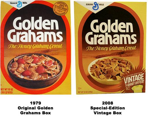 Golden Grahams Golden Grahams Vintage Boxes