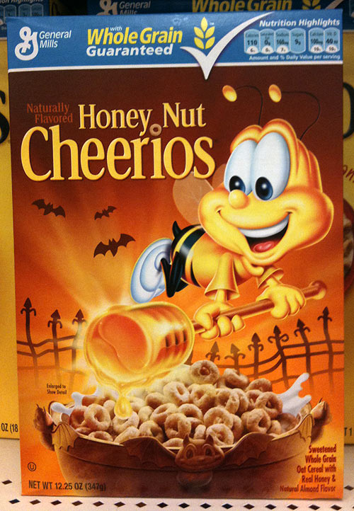 Honey Nut Cheerios Honey Nut Cheerios Halloween 2010