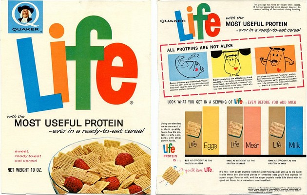 Early Life Cereal Box
