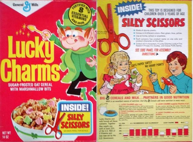 Lucky Charms w/ Silly Scissors