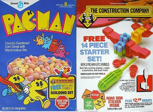 Pac-Man Building Set Box