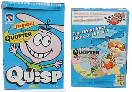 Quisp Cereal Box - Quopter