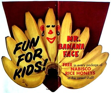 Rice Honeys Mr. Banana Face