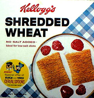Shredded Wheat Box - Cereal Spoons
