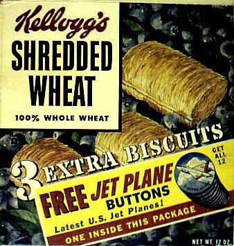 Shredded Wheat - Jet Buttons