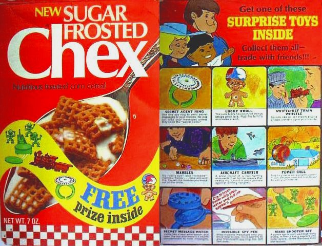 Sugar Frosted Chex Box Front & Back