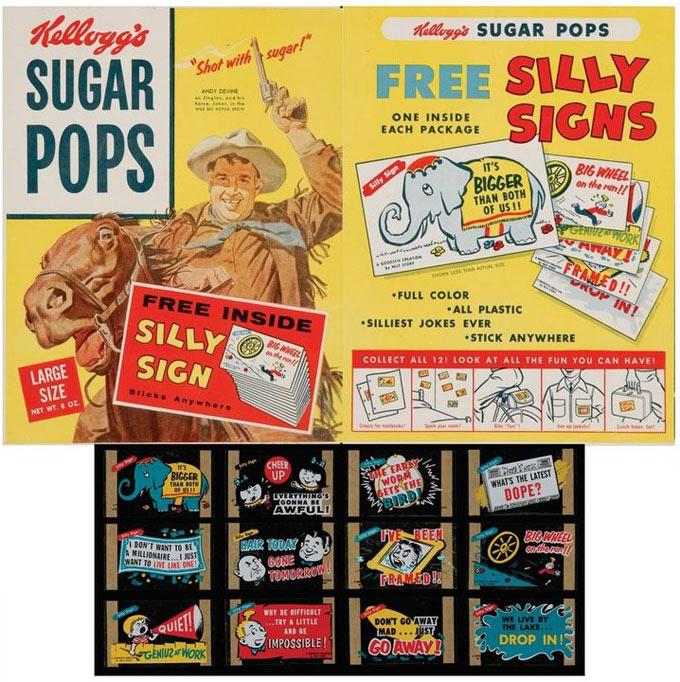 Sugar Pops: Sugar Pops Silly Signs